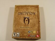 Oblivion The Elder Scrolls IV Collectors Edition PC Complete with sealed coin