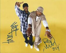METHOD MAN and REDMAN dual WU TANG CLAN signed auto 8X10 photo HOW HIGH PROOF