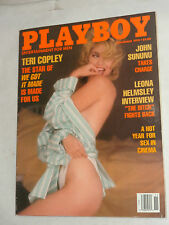 "Playboy Magazine November 1990 ""Cover: Teri Copley"" SNY,ES,WE"