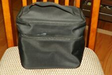 "Lancome Black Make-Up Case 9"" x 7"" x 7.5"""