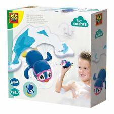 Badespielzeug Polo der schwimmende Pinguin blau/weiß