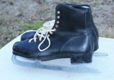Vintage Canadian Flyer ice skates Leather size 11