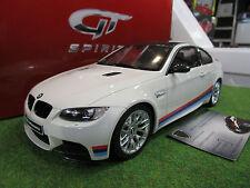 Bmw M3 E92 M Performance Blanc 1/18 GT Spirit Gt707 Voiture Miniature Collection