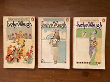Vintage Evelyn Waugh Orange Penguin Books 5 Vintage Paperbacks