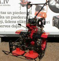 Cultivator Tiller Motoblock Tractor Rider 900C 7.5HP + ploughs + mower New
