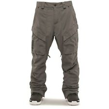 THIRTYTWO Men's MANTRA Snow Pants - Charcoal - Large - NWT