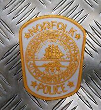 US Norfolk Police Department Virginia Shoulder Patch / Badge PB13