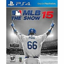 MLB 15 The Show Ps4 US IMPORT Region 2015 Game Sony PlayStation 4