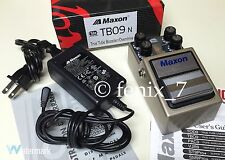 NEW | Maxon TBO-9 True Tube Booster/Overdrive REAL Valve AMP Distortion | JAPAN