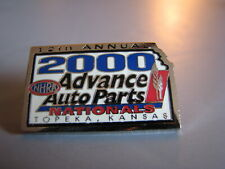 2000 Advance Auto Parts Nationals Topeka Kansas Nhra Drag Racing Event Hat Pin