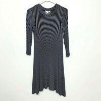 American Eagle Outfitters Soft & Sexy White Black Striped Dress Stretch Small