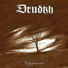 DRUDKH - Estrangement LP - White Colored Vinyl Album - BLACK METAL RECORD - NEW