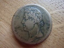 1827H France Charles X Colonies 10 Cent Coin (ref24F)