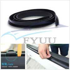 8M V Type Autos Side Windows Edge Sealant Weatherstrip Sound Noise Sealing Strip