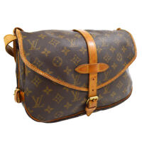 LOUIS VUITTON SAUMUR 30 MESSENGER SHOULDER BAG MONOGRAM M42256 AR0975 31641