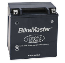 New BikeMaster TruGel Motorcycle Battery - 2013-2016 Honda NCH50 Metropolitan