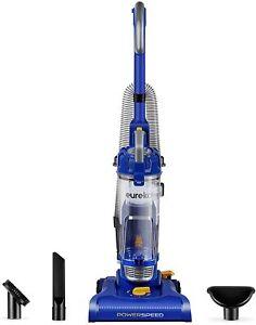 Eureka NEU182A PowerSpeed Lightweight Bagless Upright Vacuum Cleaner, Blue, Lit
