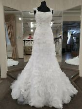 Maggie Sottero Lacey wedding bridal gown White size 2