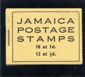 Jamaica 1952 KGVI 2s booklet stapled left superb MNH. SG SB13.