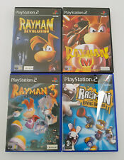 Rayman PS2 Games 2 3 M Revolution The Great Excape Hoodlum Havoc Raving Rabids
