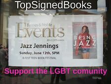 SIGNED Being Jazz My Life As a Transgender Teen by Jazz Jennings, new