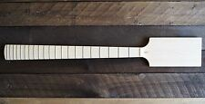 "EDEN 30"" Short Scale Paddle Bass Neck Maple/Maple No Inlay"