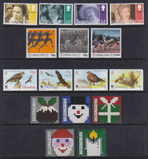 Gibraltar 1996 Mint MNH 4 Full Sets Birds of Prey Royal Family Olympic Sport