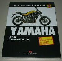 Reparaturanleitung Yamaha MT-07 Tracer + XSR 700 Reparatur + Wartung Buch Neu!