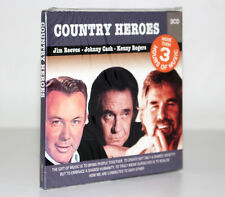 COUNTRY HEROES [JIM REEVES, JOHNN CASH, KENNY ROGERS] [3 CD 2009] FUORI CATALOGO