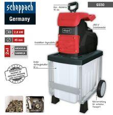 Scheppach Gartenhäcksler GS50 2,8kW Induktionsmotor Leisehäcksler