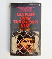 1962 ONE FLEW OVER THE CUCKOO'S NEST By Ken Kesey w/ Photos From Film