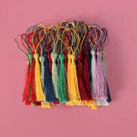 100PCS Long Thread Tassel Fringe for Earring Jewelry Making DIY Craft Accessory