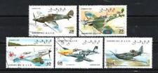 Avions Sahara (35) série complète de 5 timbres oblitérés