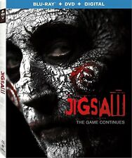 JIGSAW THE GAME CONTINUES(BLU-RAY+DVD+DIGITAL)W/SLIPCOVER NEW FREE SHIPPING