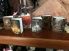 1:6 Scale Classic Books - Perfect for Dioramas for 12 Inch dolls. Set of 6