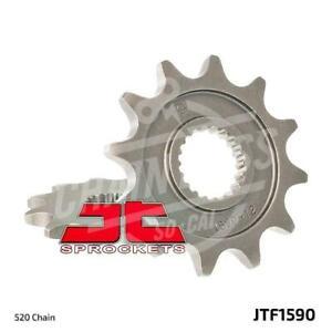 JT Sprockets 520 Front Sprocket Steel 12 Teeth Natural JTF1590.12