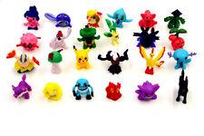 20 x Assorted Pokemon Action Mini Figures Cartoon TV Pikachu Go Monster Toy Gift