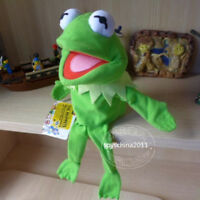 The Muppet Show Kermit the Frog plush puppet Toy Gift Cute kids