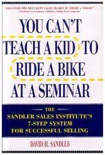 You Cant Teach a Kid to Ride a Bike at a Seminar