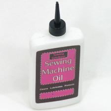 Fine Sewing machine oil knitting overlocker lubrication squeezy dispanser 120ml