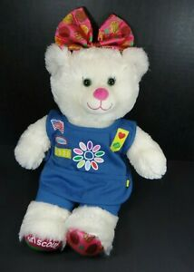 """Build A Bear Girl Scouts White Cookie Bear Clothes 16"""""""