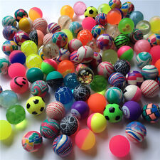 10 Pcs Mixed 30mm Bounce Multi-Colored Elastic Juggling Jumping Balls Toy A2P