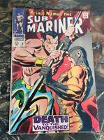 Marvel Sub-Mariner #6 1968 2nd App Tiger Shark Comic Namor