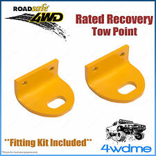 Nissan Navara D40 4WD Roadsafe Rated Recovery Heavy Duty Tow Points Kit