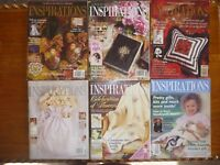 BULK INSPIRATIONS EMBROIDERY MAGAZINE ISSUES 4 6 10 11 29 32 COUNTRY BUMPKIN