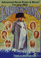 Empires in Arms Expansion with Advanced Naval Rules, Avalon Hill, 120+ Pages