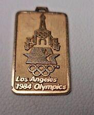 14K GOLD 1984 LOS ANGELES OLYMPICS CHARM PENDANT RARE 1.3 GRAMS   E20