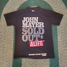 ALIFE John Mayer Short Sleeve Crewneck T Shirt Mens Small Madison Square Garden