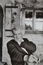Martine Franck Limited Ed. Photo Heliogravure 24x31 Yves Bonnefoy Portrait 1979
