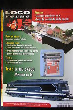 MODELISME FERROVIAIRE TRAIN MAGAZINE LOCO REVUE N° 727 de 2008